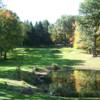 A fall day view from Columbia Golf & Country Club