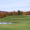 A view of green #11 at Elm Tree Golf Course