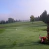 A view from the 1st tee at Elm Tree Golf Course