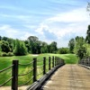 A view of the 17th hole at Hollow Brook Golf Course