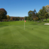 A view of the 17th green at Elmira Country Club (Allison Newkirk & Megan Hugg)
