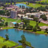 Aerial view from Nevele Grande Country Club