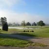 A view of a tee at Genegantslet Golf Club