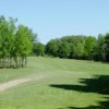 A view of the 3rd green at Holland Heights Golf Course