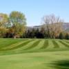 A fall day view of a hole at Mohawk Valley Country Club