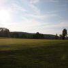 A sunny day view from Hardwood Hills Golf Course