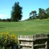 A view of a tee at Mohonk Golf Course