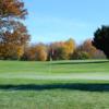 A view of a green at Cardinal Hills Golf Course