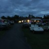 An evening view from Raquette River Golf & Country Club