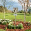 A view from tee #1 sign at Camroden Golf Course