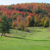 A view of a fairway at Schroon Lake Golf Course