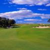 A view from fairway #9 att Sebonack Golf Club