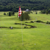 A view of a hole at Ticonderoga Country Club