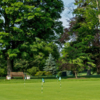 A view of the practice area at Waccabuc Country Club