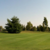 A view of a green at Twin Brooks Golf Course