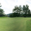 A view of the 18th hole at Cronin's Golf Resort