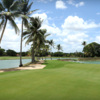 A view of a hole at The Links from Casa de Campo
