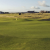 A view of a green at Royal Troon Golf Club