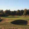 A view of hole #5 at Hotchkin Course from Woodhall Spa Golf Club at National Golf Centre
