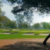 A view of a well protected green at Dunes Golf & Beach Club