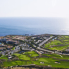 Aerial view from The Links at Terranea
