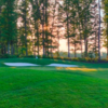 A view of hole #17 at Kinloch Golf Club