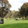 A view of a hole at Oberon Golf Club