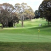 A view of hole #16 at Oberon Golf Club