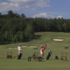 A view of the driving range at 12 Oaks