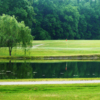 A view over the water of a hole at Southern Wayne Country Club