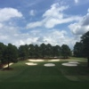 View of the 5th hole from the Lake at Carolina Trace Country Club