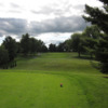 A view from a tee at Cherokee Hills Golf Course