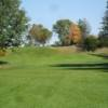 A view from the 8th fairway at Napoleon Municipal Golf Course