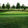 A view of a green at Apple Creek Golf Course
