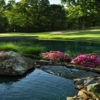 View of a green and water at The Links at Stoney Point