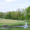 A view of hole #18 at Cedarbrook Country Club