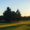 Sunset view of a green at East Hartford Golf Club