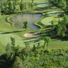 Aerial view of hole #6 at Whitetail Golf & Country Club