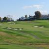 A view of a green protected by sand traps at Country Club of Scranton