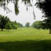 A view of fairway #17 at Blackwood Golf Course