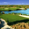 A view of a tee at Riviera Cancun Golf & Resorts