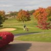A fall day view from Vermont National Country Club