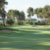 A view from fairway #8 at Pink Course from Real Club de Golf El Prat