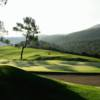 A view of a green at Barbaroux Golf Club