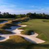A view of the 2nd hole at The Golf Club at Sacconnesset.