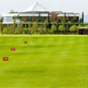 A view of the driving range at Santander Golf Club