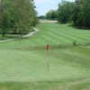 Looking back from a green at Heritage Bluffs Public Golf Club