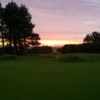 A view of a green at Crosland Heath Golf Club