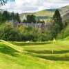 A view of a green at Dalmunzie Golf Course