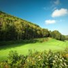 View of the 9th green at The Cape Breton Highlands Golf Course